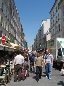 """Rue Cler, Paris"""